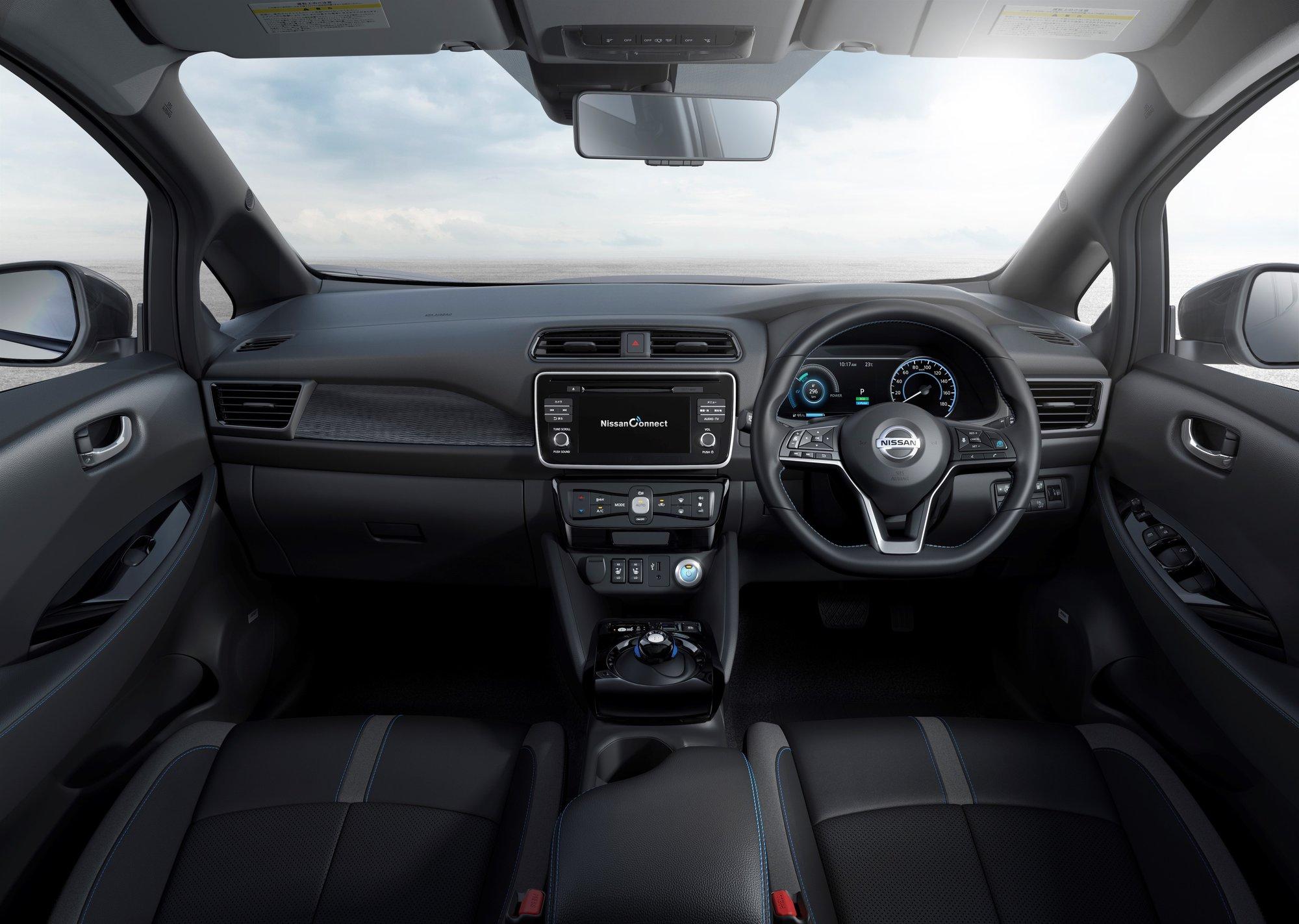 Zcela nový elektrický Nissan Leaf