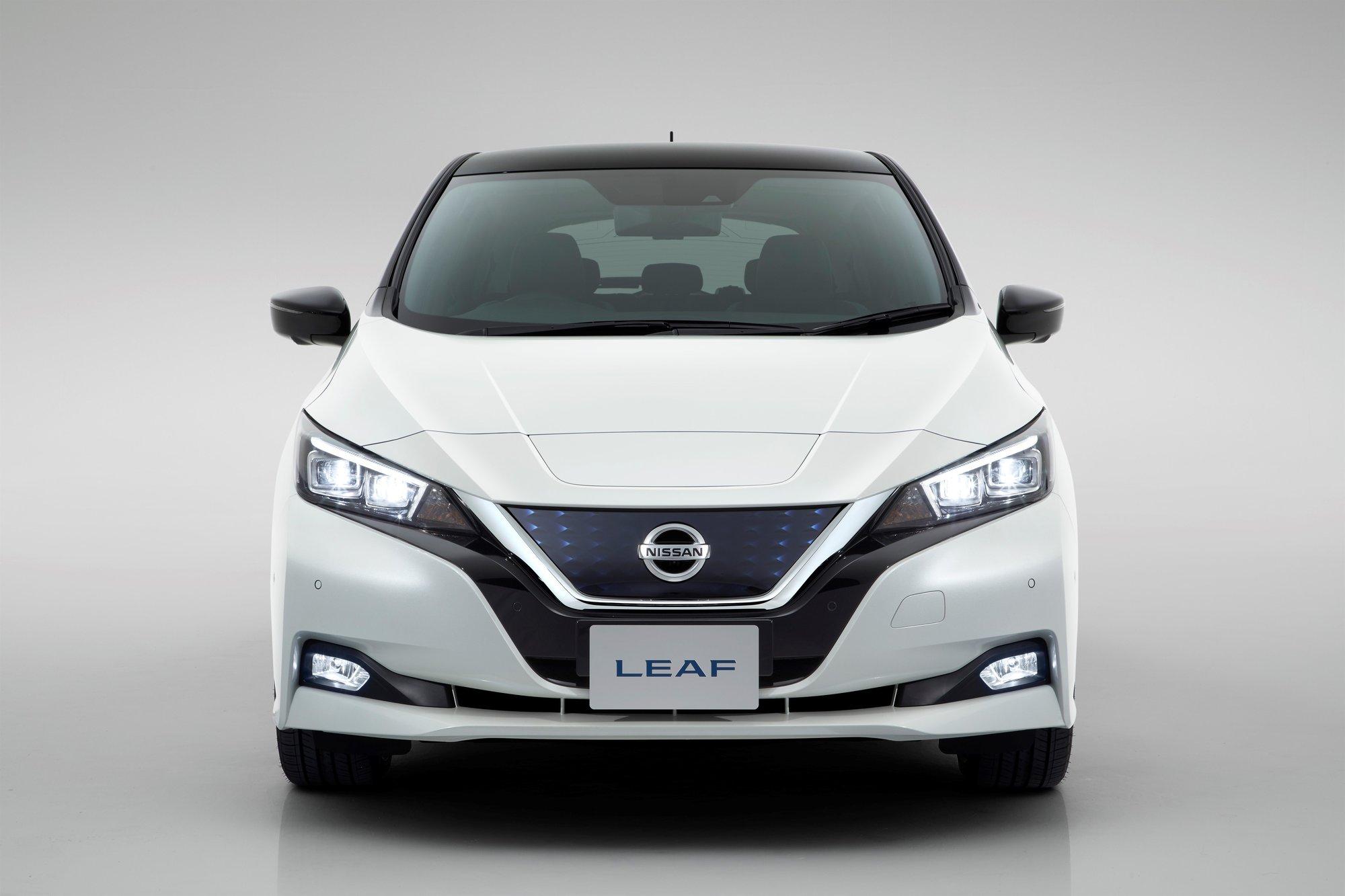 Standardní provedení nového elektromobilu Nissan Leaf