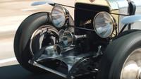 Jay Leno představil svůj vůz Hispano Suiza s leteckým motorem V8
