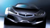Ilustrační foto - Grafický koncept BMW i5 z Behance.net, jehož autorem je Filbert Tjangnaka
