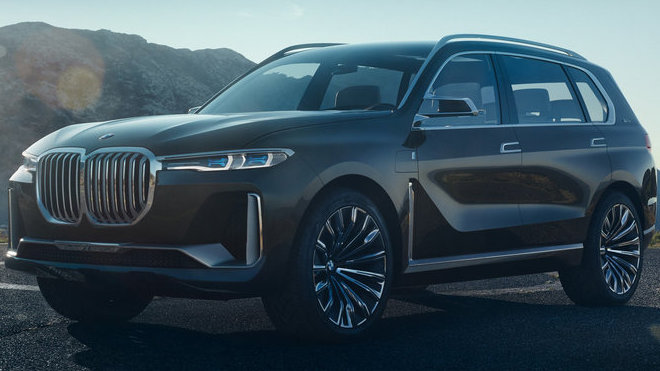 Koncept BMW X7 iPerformance