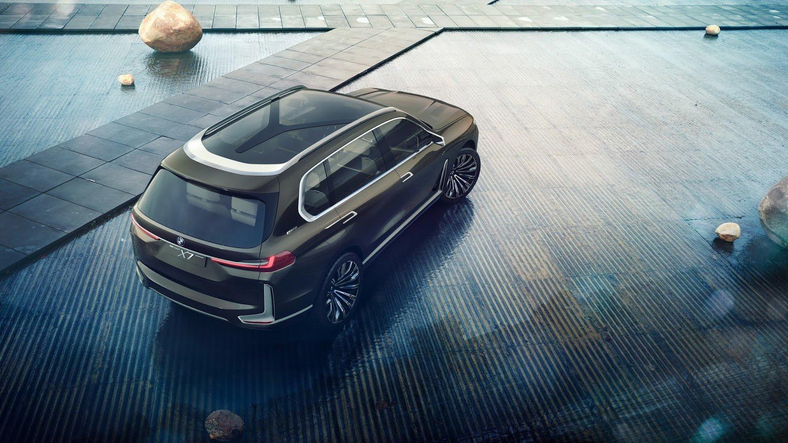 Koncept BMW X7 iPerformance