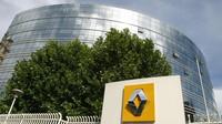 Prosklená budova ředitelství automobilky Renault v Boulogne-Billancourt