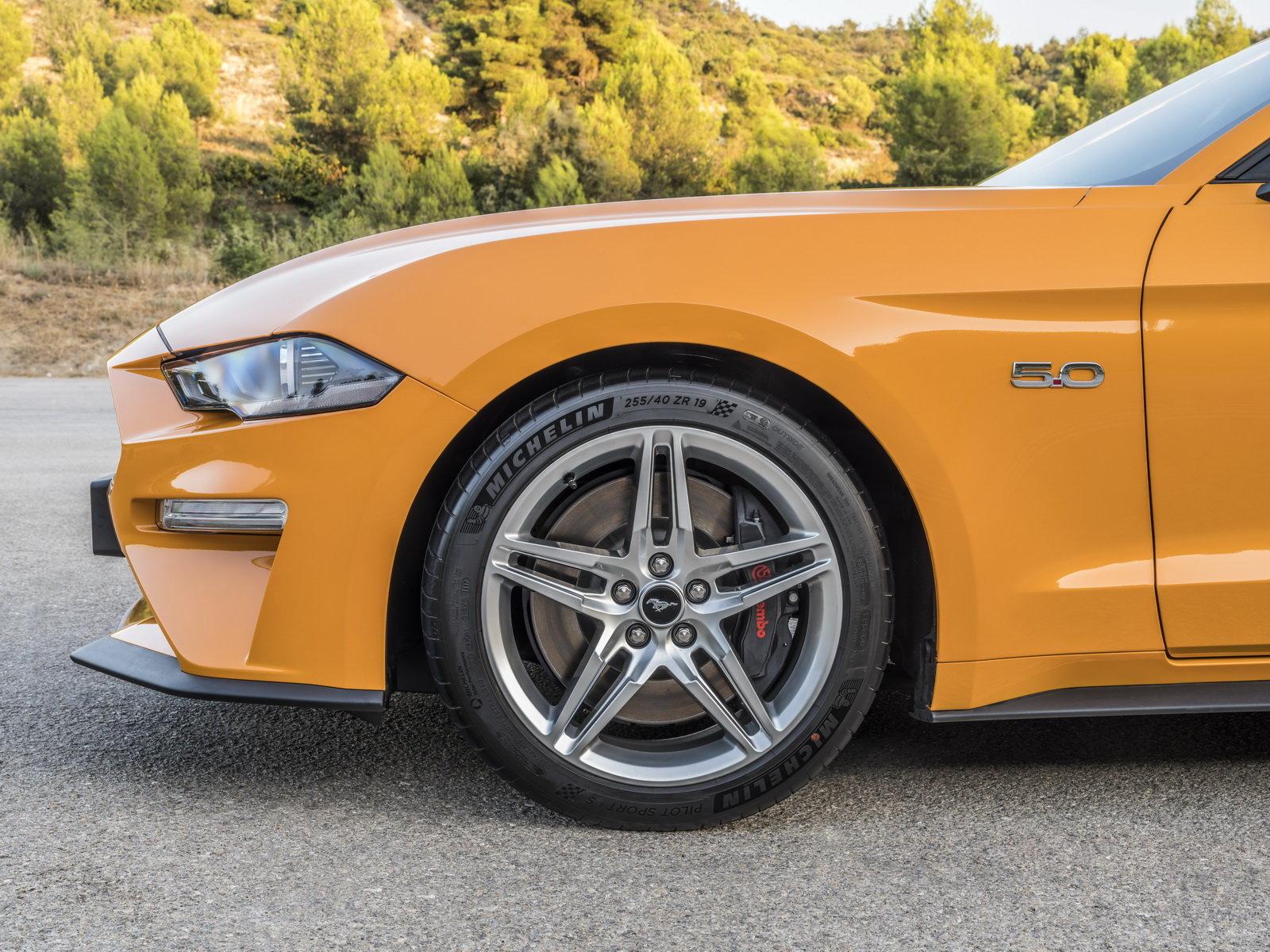 Omlazený Ford Mustang 2018