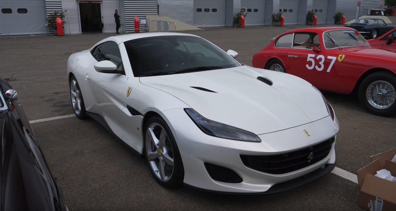 Nejnovější snímky vozu Ferrari Portofino