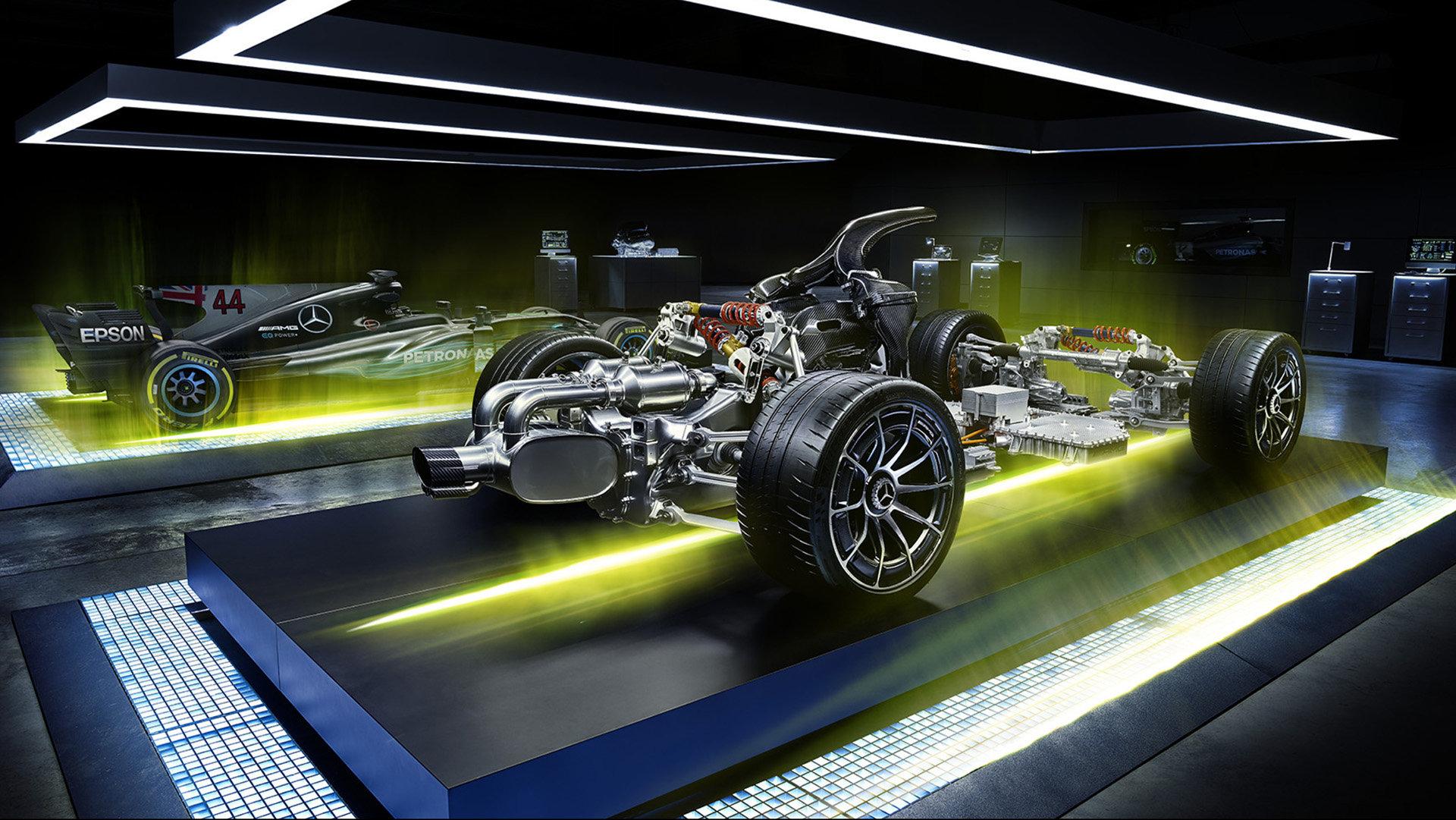 Zavěšení a uložení pohonné jednotky vozu Project ONE