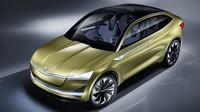 Škoda se ve Frankfurtu pochlubila s inovovaným konceptem Vision E