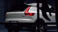 Uniklé fotografie nového kompaktního SUV Volvo XC40