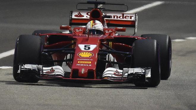 Sebastian Vettel nedokočil ani Velkou cenu Japonska