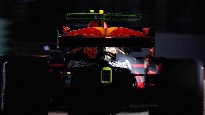 Záď Red Bullu RB13