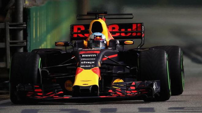 Daniel Ricciardo ve Velké ceně Singapuru