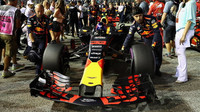 Max Verstappen před závodem v Singapuru