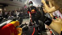 Daniel Ricciardo po závodě v Singapuru