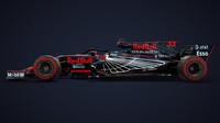 Jeden z grafických návrhů vozu Red Bull - Aston Martin