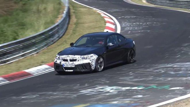 Testování BMW M2 na Nürburgring - možná již v úpravě M2 CSL