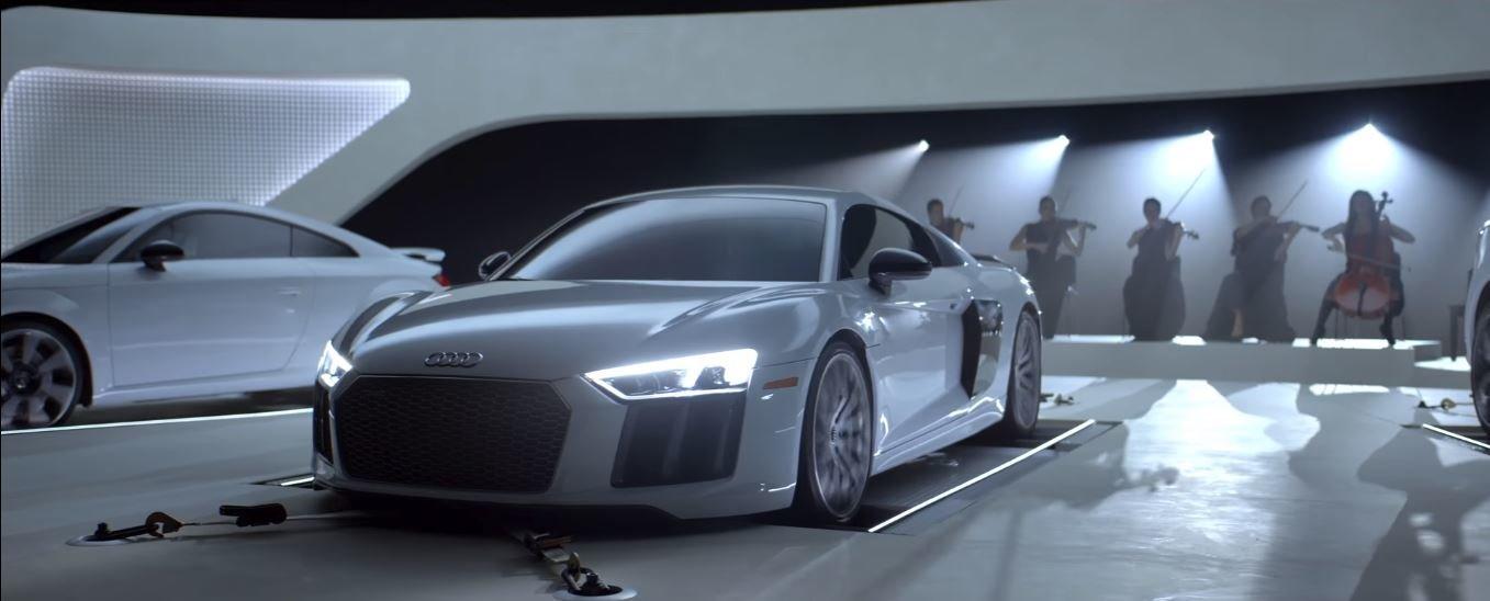 Audi sestavila originální orchestr z modelů TT RS, R8 V10 Plus a SQ5