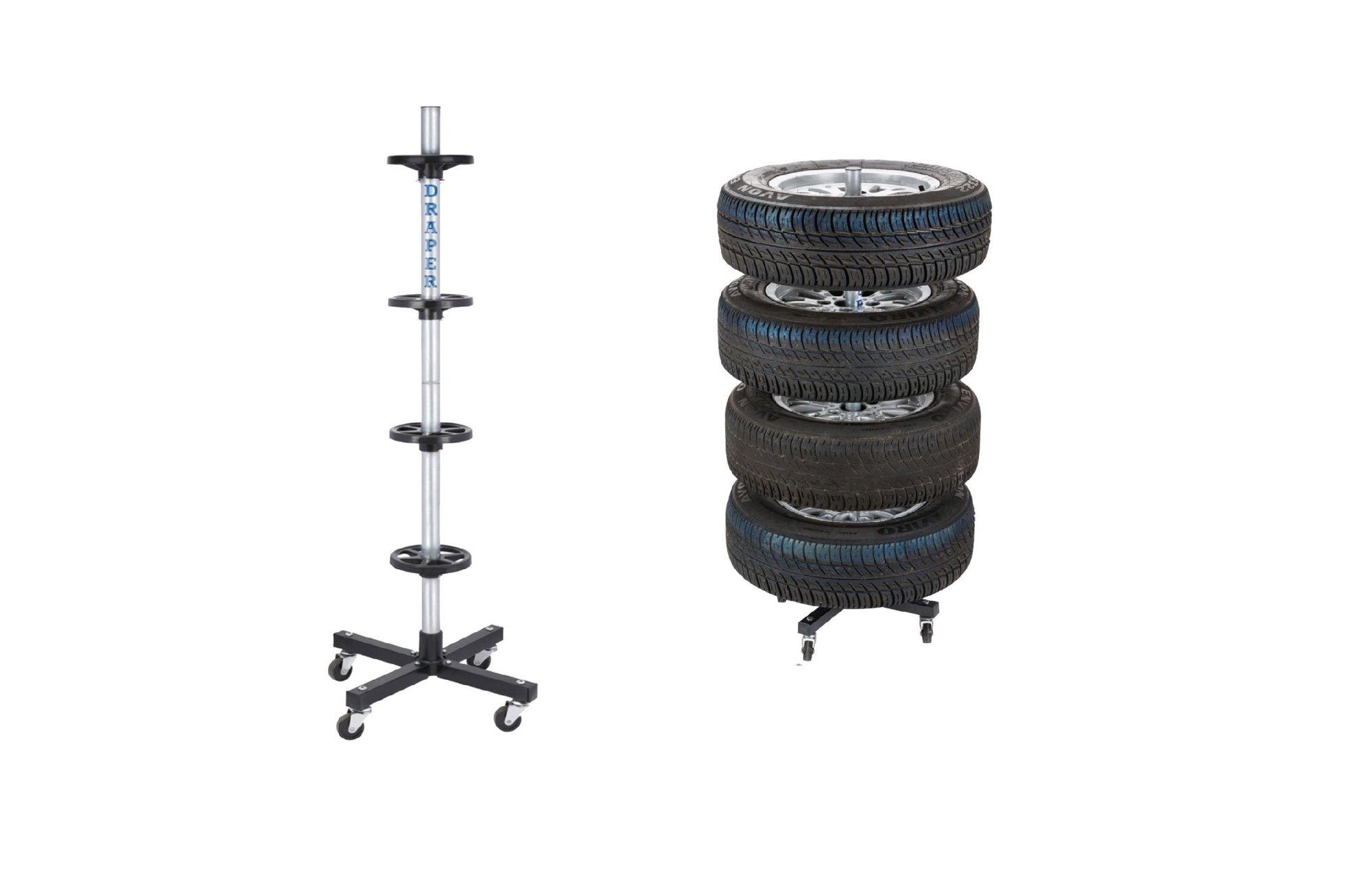Ideální způsob skladování pneumatik s ráfkem