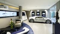 O Bugatti Chiron je v Německu ohromná zájem, Bugatti zde dokonce otevřela nový Showroom