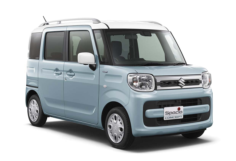 Kromě jiného předvede Suzuki v Tokiu i nové verze svých Kei dodávek Spacia