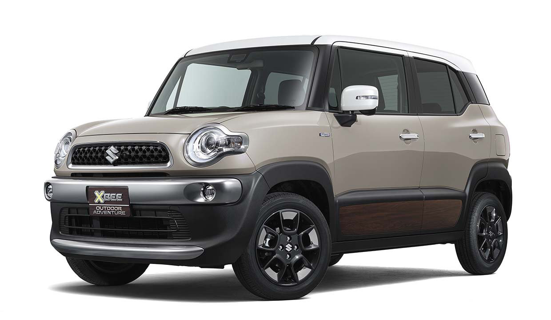 Koncept kompaktního retro-off-roadu Suzuki Xbee