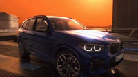 """Záběry z """"virtuální jízdy"""" s novým BMW X3 M40i"""