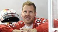 Sebastian Vettel v Malajsii