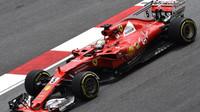 Sebastian Vettel v tréninku v Malajsii