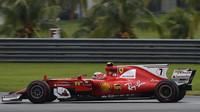 Kimi Räikkönen v tréninku v Malajsii