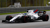 Felipe Massa v tréninku v Malajsii