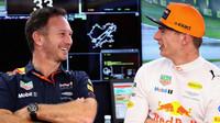 Christian Horner se svým jezdcem Maxem Verstappenem