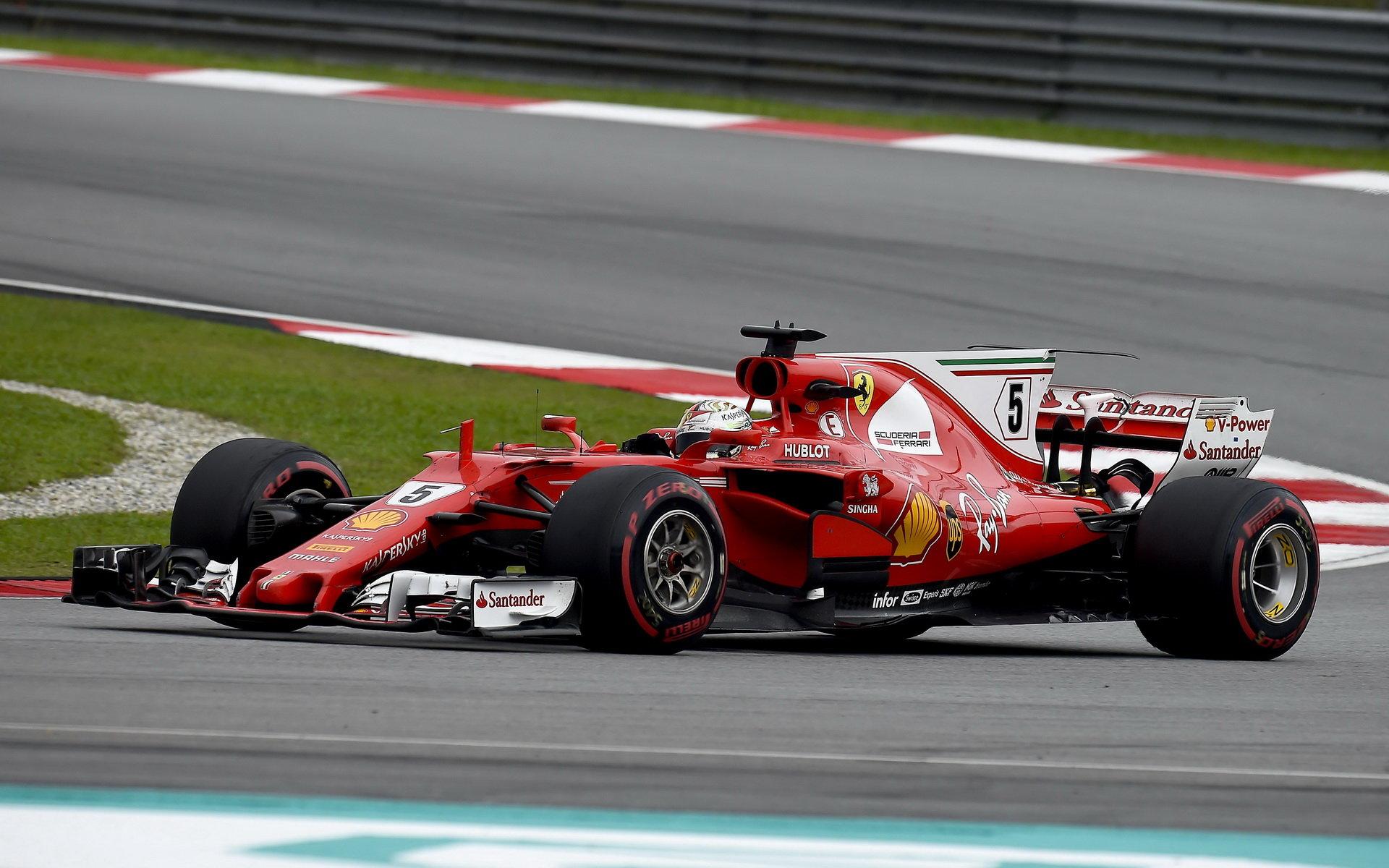 Ferrari má rychle auto a Vettel věří, že s ním můžou zbylé čtyři závody sezóny vyhrát