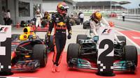 Max Verstappen po vítězství v Malajsii