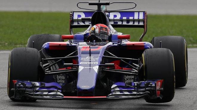 Pierre Gasly nastoupil v Malajsii a v Japonsku, do USA ale s Toro Rosso nepoletí