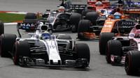 Felipe Massa po startu závodu v Malajsii