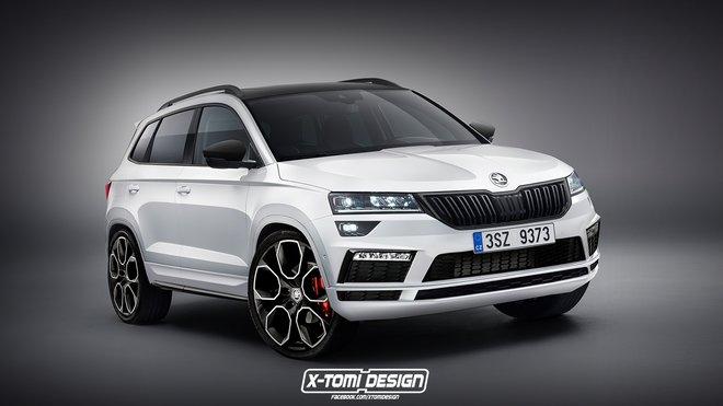 Úprava Škoda Karoq RS od X-Tomi Design