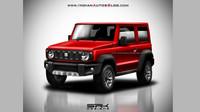 Možná podoba produkční varianty nového Suzuki Jimny v podání SRK Designs