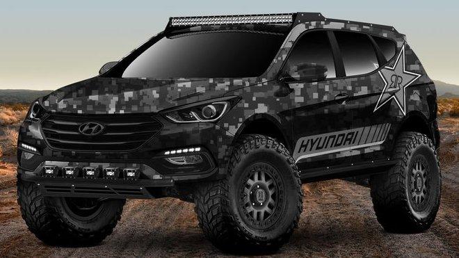 Rockstar Energy Moab Extreme Off-Roader Santa Fe Sport Concept