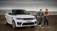 Range Rover Sport dal profesionálním závodníkům lekci v plavání