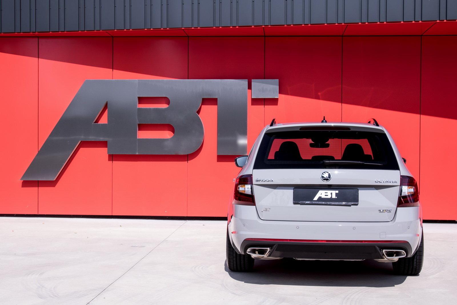 Škoda Octavia RS v úpravě ABT