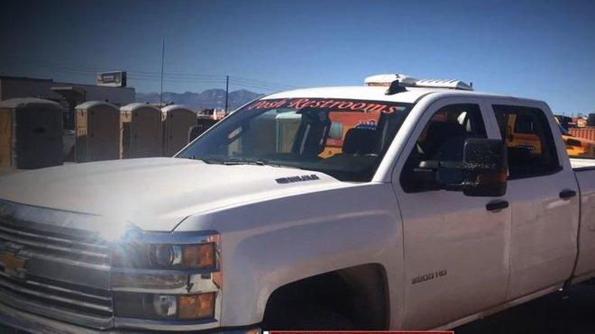 Chevrolet, ve kterém bývalý voják odvážel zraněné lidi co nemocnice