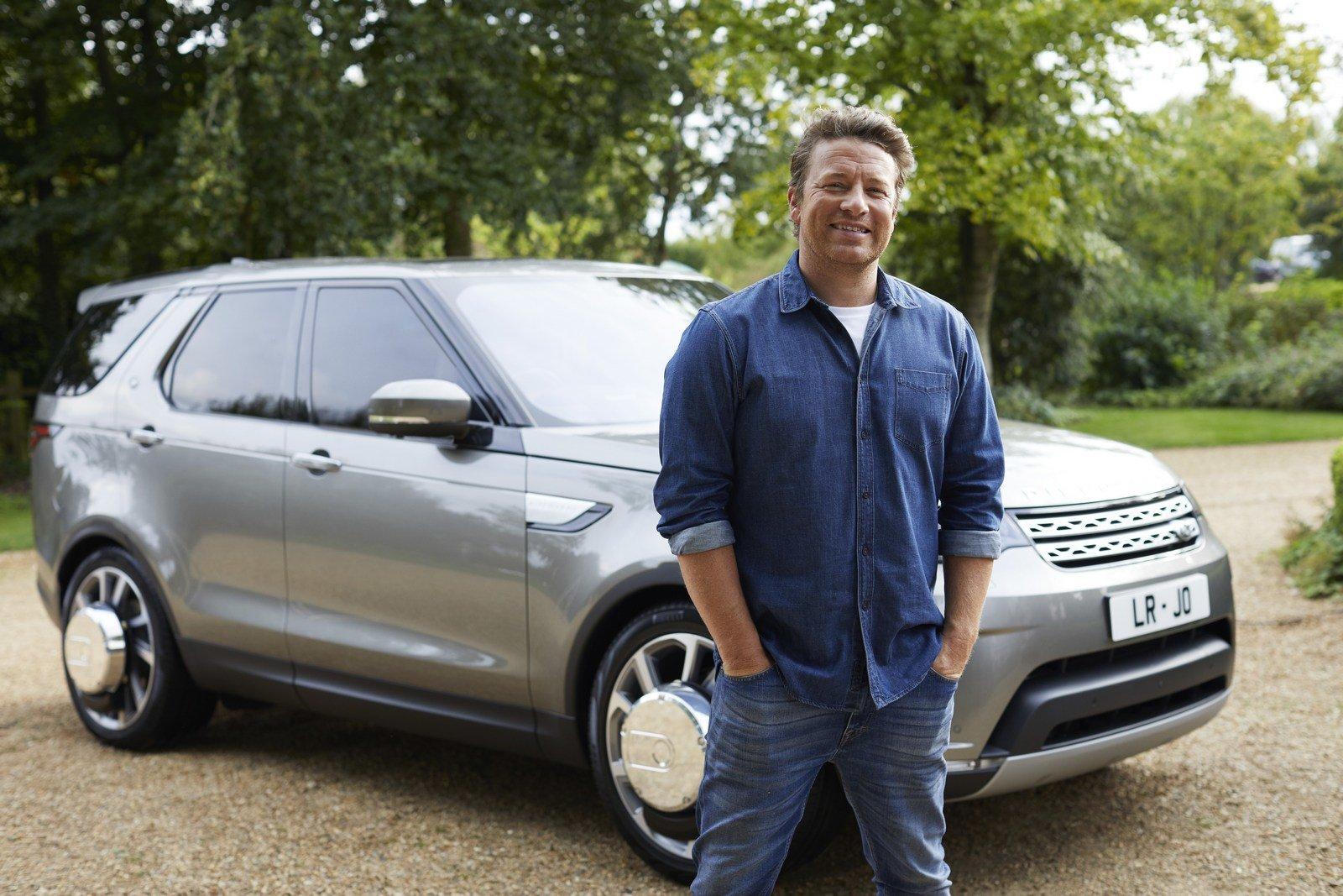 Land Rover Discovery ve speciální úpravě pro Jamie Olivera
