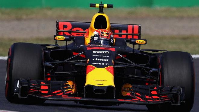 Max Verstappen se postaral o jedno z největších vzrušení v závodě