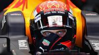 Max Verstappen ve svém Red Bullu
