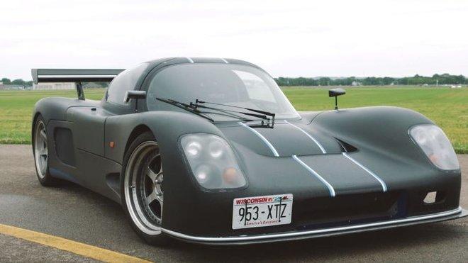 Ultima GTR s 7.0 litrovým motorem V8, který upravila společnost Mercury Racing
