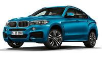 Speciální varianta X6 M Sport Edition s barvě Long Beach Blue