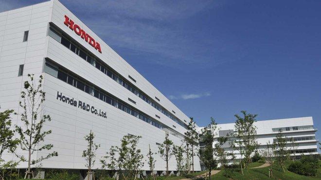 Továrna Hondy v japonské Sakuře
