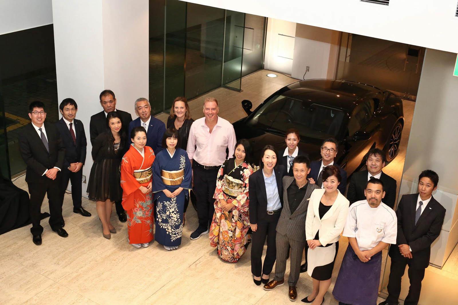 Automobilka Aston Martin prezentovala své nové modely v Japonsku