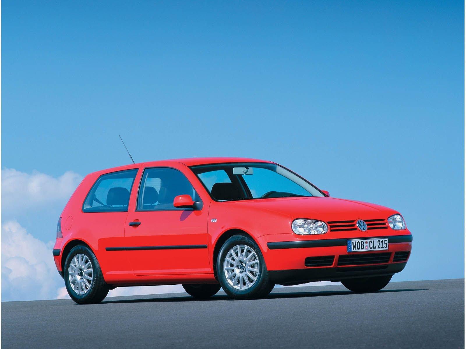 Volkswagen Golf IV - Ilustrační fotografie