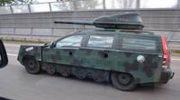 Tohle Volvo V70 je (ne)falšovaný tank