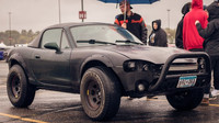 Mazda Mx-5 upravená pro jízdu mimo zpevněné silnice